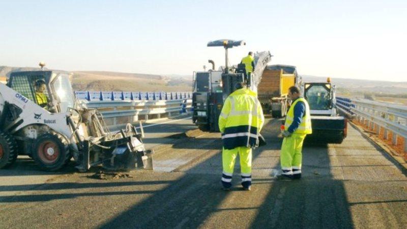 Trabajos de conservación y mantenimiento de carretera