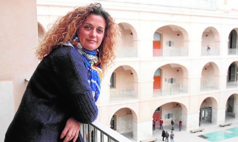 María Socorro García Cascales, profesora de Electrónica y Tecnología de Computadoras de la Politécnica de Cartagena. :: pablo sánchez / agm
