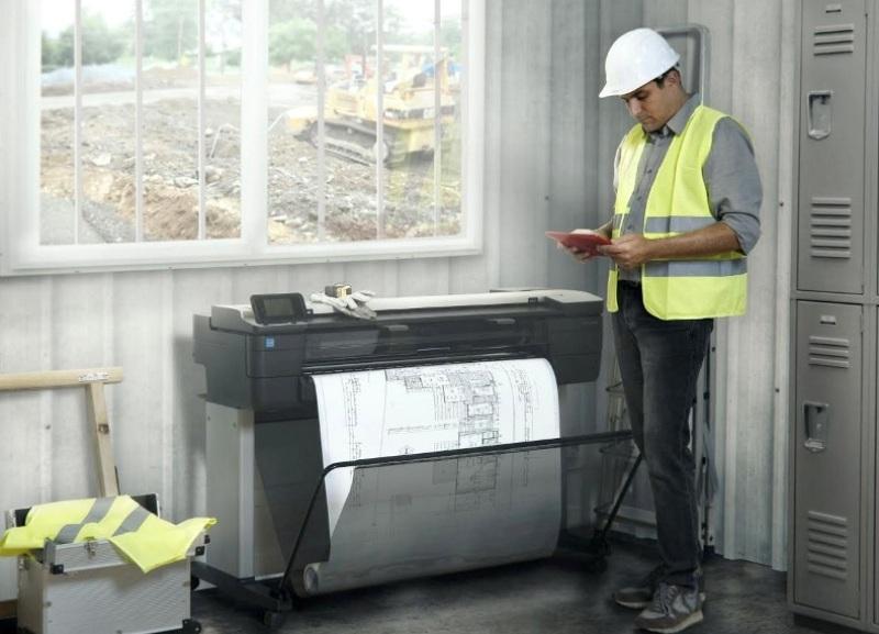Impresora Ingenieros Construccion