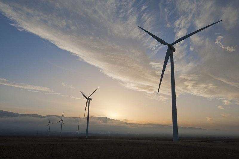 Planta de energía eólica en la Calahora (Granada). M. ZARZA