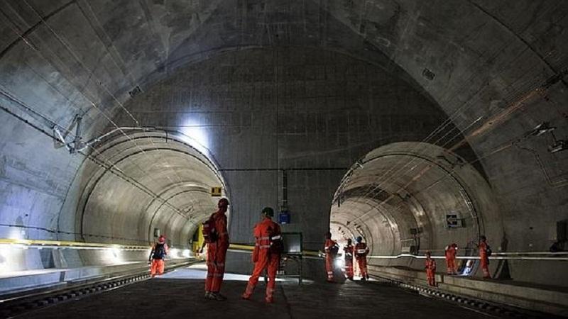 Túnel del San Gotardo (Suiza)./ ABC
