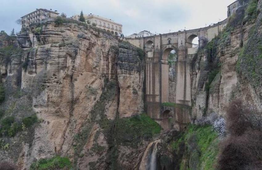 Puente Nuevo de Ronda (Málaga, Andalucía)