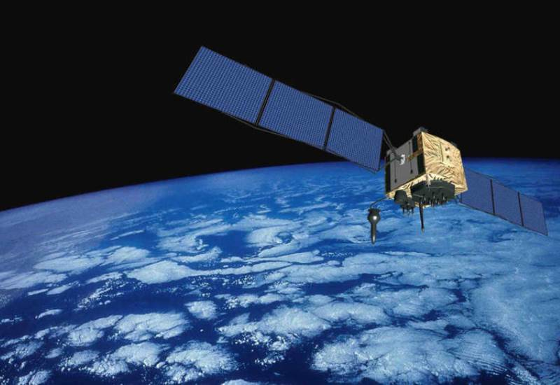 Satelite gps en orbita