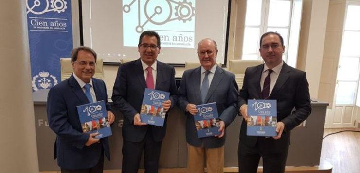 Presentan la obra 'Cien años de Ingeniería en Andalucía'