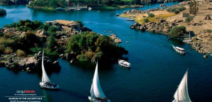 Concurso internacional de arquitectura. Museum of the Ancient Nile (MoAN) Egipto
