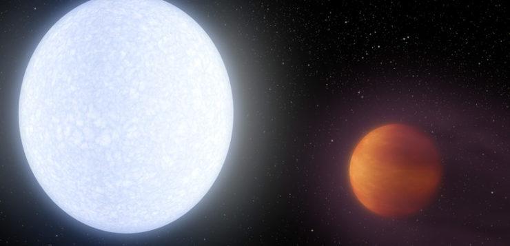 Descubierto el exoplaneta gigante más caliente conocido hasta la fecha