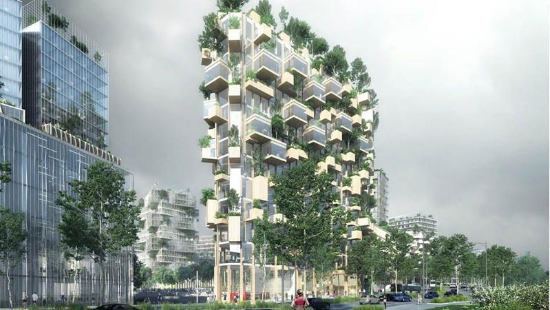 Forêt Blanche, arquitectura verde en París