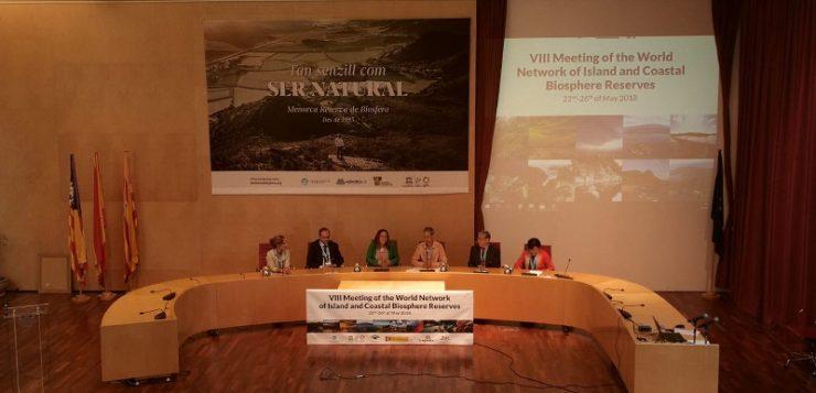 La Red Mundial de Reservas de la Biosfera Islas y Zonas Costeras inaugura su Congreso en Menorca
